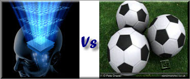 علم یا فوتبال